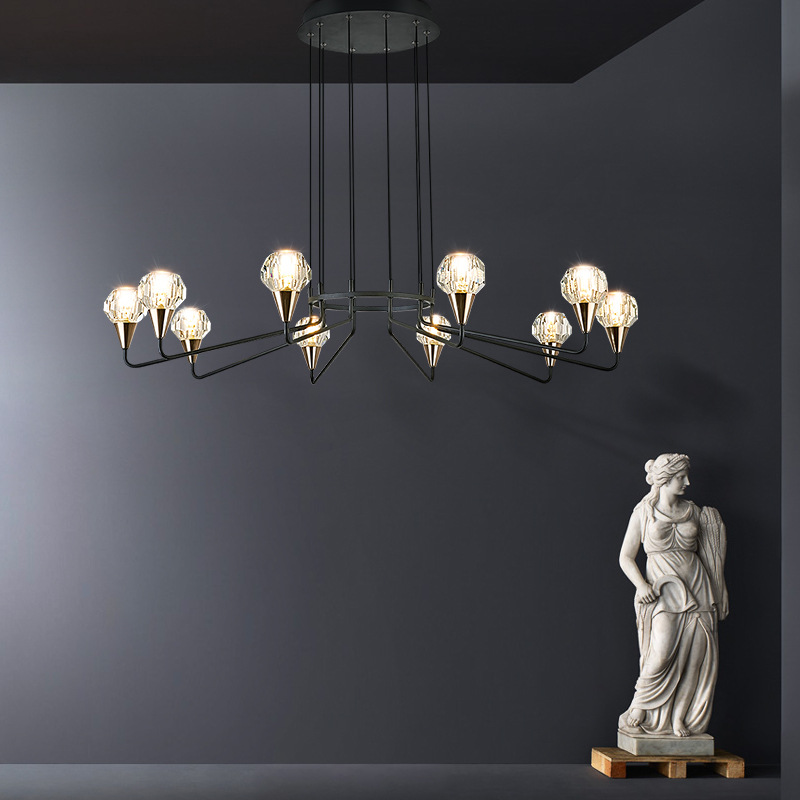 New Fashion Parlor Led Chandeliers Lighting Hall Restaurant Hanging Light Fixtures Modern Cord Pendant Lamp Nordic Loft Art DecoNew Fashion Parlor Led Chandeliers Lighting Hall Restaurant Hanging Light Fixtures Modern Cord Pendant Lamp Nordic Loft Art Deco