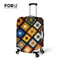 Cubierta protectora maleta con cremallera para 18 - 30 pulgadas Trolley viaje del equipaje flor del estiramiento elástico impermeable lluvia de polvo Coers