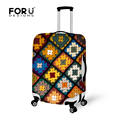Suitcase Protective Cover with Zipper for 18-30 inch Travel Trolley Luggage Flower Elastic Stretch Waterproof Rain Dust Coers