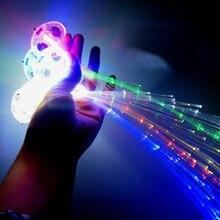 35CM Lighting LED Hair Braid Clip Hairpin Multicolor LED Flash Light