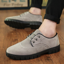 ZDRD 2016 new fashion brand men's shoes, men's casual shoes Bullock, high quality lace-up flat shoes Zapatos Hombre men sapatos