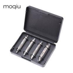 Бесплатная доставка, 4 шт./компл., набор экстракторов винтов, набор для высверливания, легко снимается, набор разбитых спидоутов
