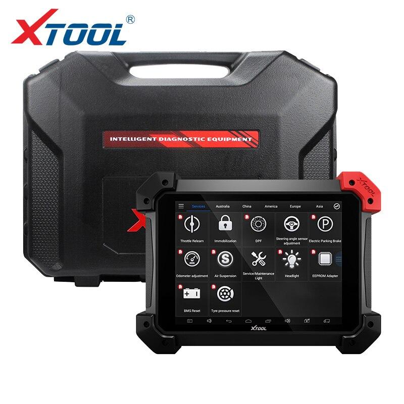 Ps90 pro ferramenta de diagnóstico resistente para carro e caminhão obd2 programador chave e ajuste odômetro atualização em linha com wifi/bt