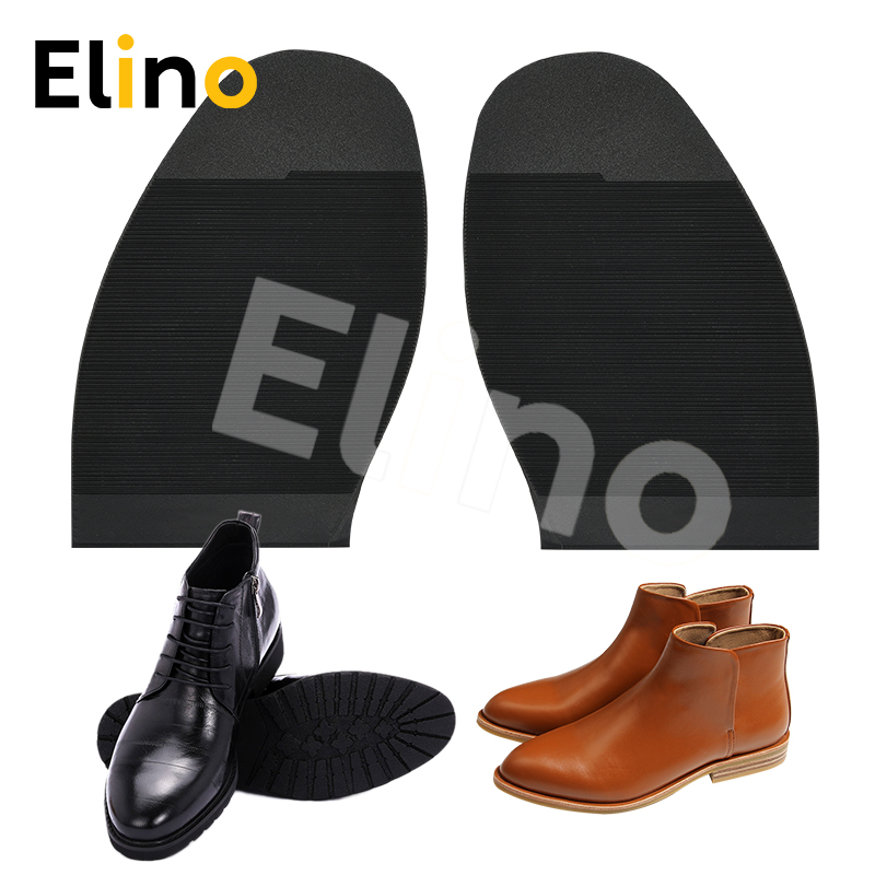 Elino Anti-slip Rubber Soles For Men Women Sneakers Leather Shoes Repair Wear Resistant Shoe Outsoles Black Brown Wholesale