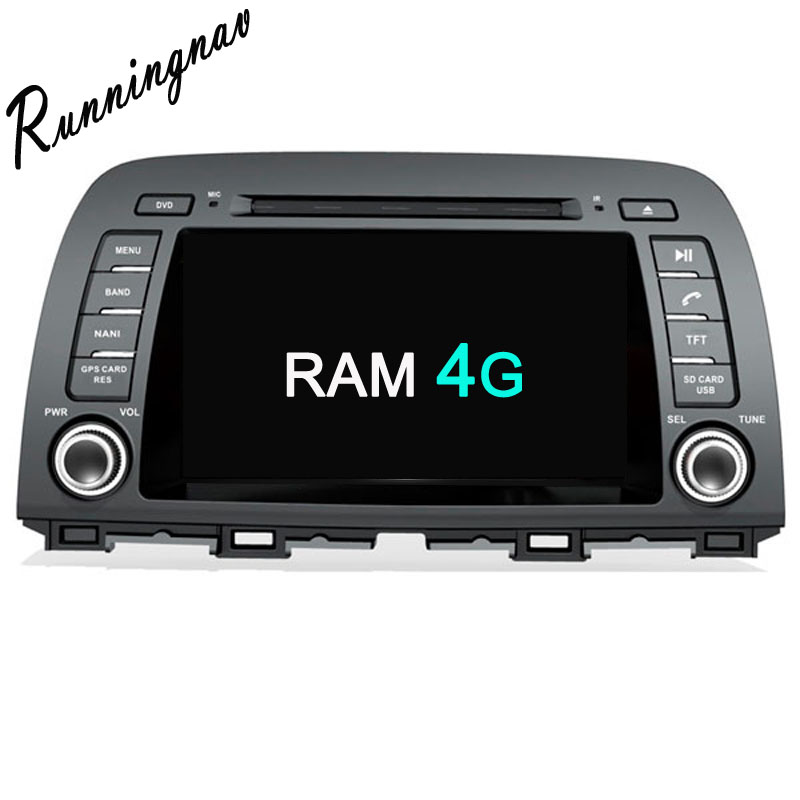 Android 8.0 Octa Core PX5/PX3 Fit MAZDA 6 mazda6 / ATENZA 2013 2014 2015 2016- Car DVD Player Navigation GPS Radio