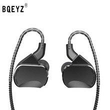 سماعات BQEYZ BQ3 3BA 2DD هايبرد داخل الأذن سماعات أذن هاي فاي باس مونيتو سماعة أذن رياضية يمكن فصلها كابل KC2 T3 AS10 V80