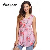 Yizekoar 2017 Summer Sexy Women Fashion High Street Tank Black Floral Pompom Lace Trim Flowy Tank