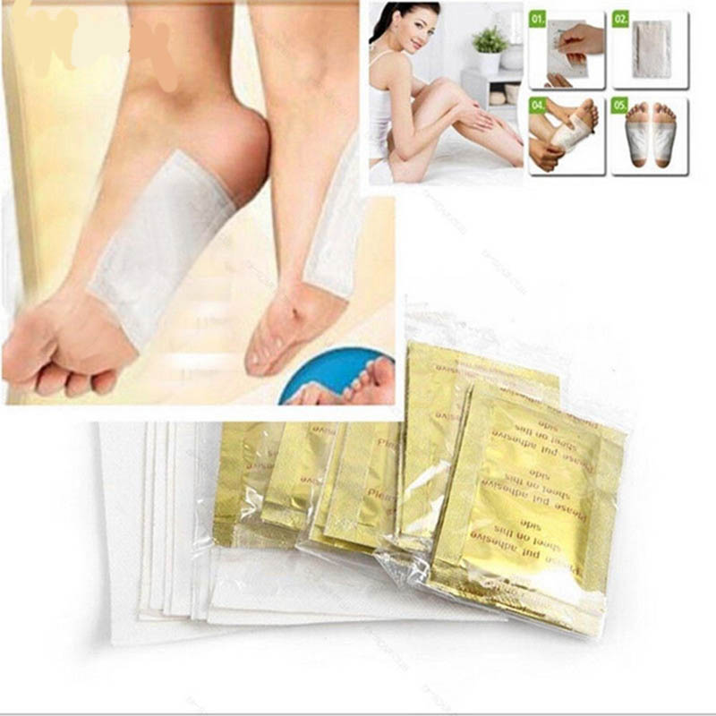 20pcs/lot Gold Premium Kinoki Detox Foot Pads Organic Herbal Cleansing Patches Feet Care Accessory(10pcs Patches+10pcs Adhesives|Foot Care Tool|   - AliExpress