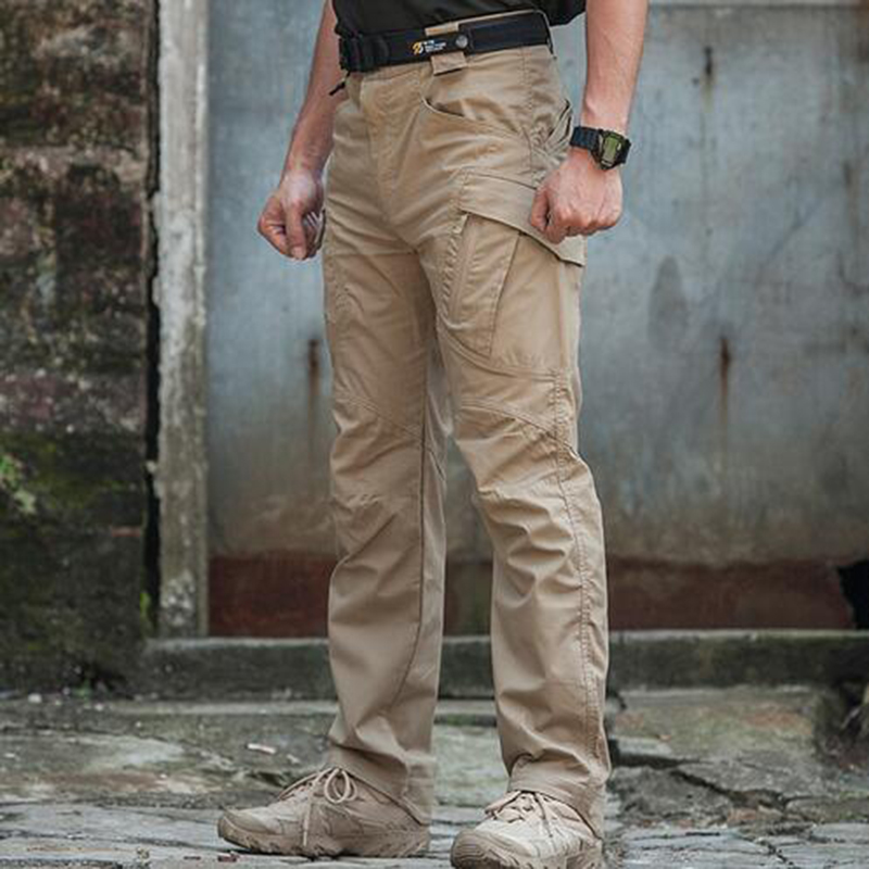Army Military Mens Dress Pants Men Trousers Urban Tcatical IX9 Cargo Hiking Pants Hunting Pants Breatable Combat Tactical Pants mens ripstop tactical pants outdoor camping water repllent hiking pants urban sports trousers army green