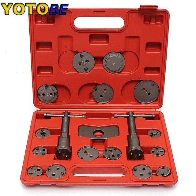 18PC Brake Caliper Wind Back Piston Rewind Tool Kit Complete Set Hand Tools