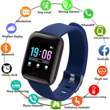 50 шт./лот 116 плюс Смарт Браслет сердечного ритма крови Давление Фитнес повязка для сна Браслет для Android IOS Smart Watch Smartband