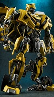 In Stock 21Cm Alloy Version Bumblebee Figures Robot Deformation Cars Action Toys VS Optimus Prime