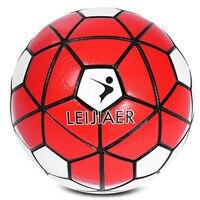 LEIJIAER Formato 5 antiscivolo PU Pallone Da Calcio Calcio 2017 Partita di Calcio Calda Graded Senza Soluzione di Continuità di Calcio Soft Touch palla