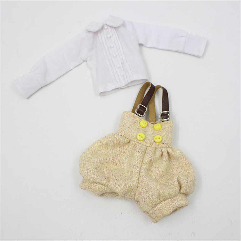 Blyth куклы одежда blyth платье юбка на подтяжках брюки подходит blyth кукла 1/6 нормальное соединение azone licca тело ледяная кукла