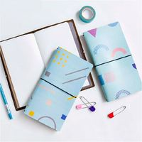 Basic Element Colorful Journal Book 20 2 11 5cm DIY Diary Scheduler Gift School Office Supplies