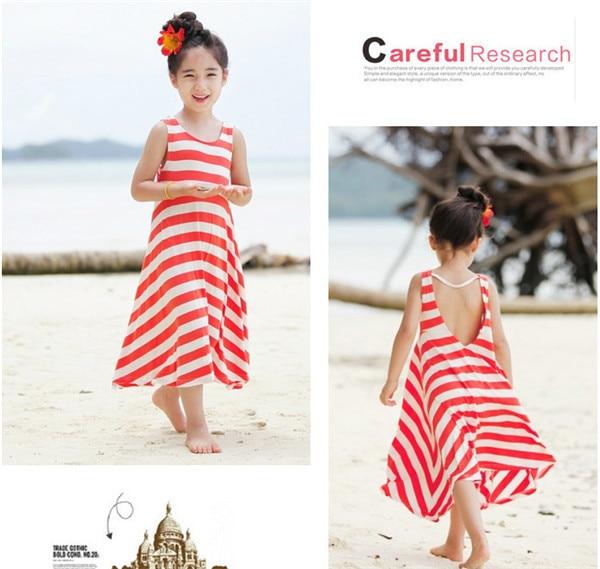 Fashion Girls Chevron Dresses Bohemian Next Baby Girls Kids cotton beach Dress children clothing summer autumn new 2017 Brand