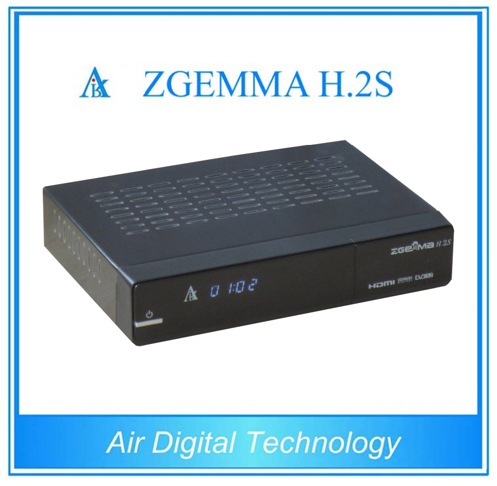 5 pcs/lot DVB S/S2 twin tuner enigma 2 Linux dual core cpu ZGEMMA H.2S Satellite tv decoder no dish 10pcs zgemma star i55 support satip iptv box bcm7362 dual core mainchipset 2000 dmips cpu linux enigma 2 hdmi connection