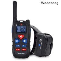 Dog Training Collar Rechargeable Electric Shock Vibration sound for small big dogs IP67 Bark Collar training Dogs accessories