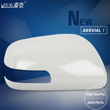 Zuk Outer Side Rearview Mirror Cover Housing Shell For Toyota Camry 2006 2007 2008 2009 2010 2017 Acv4 Ahv41 Base Color