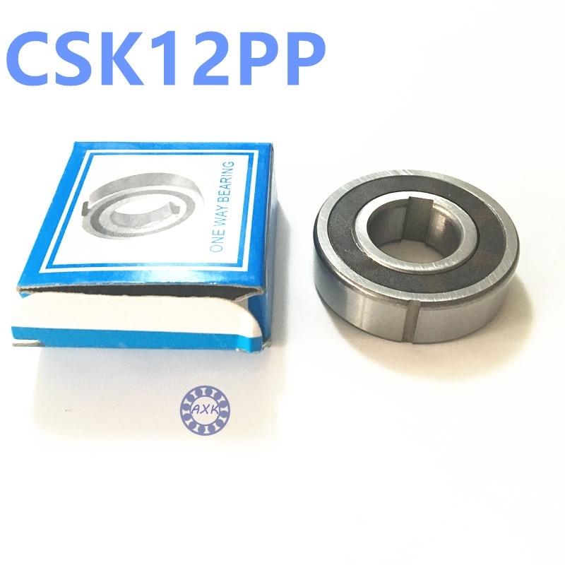 Free shipping 2pcs 6201 CSK12 CSK12PP BB12 one way clutch bearing 12x32x10 printer/Washing machine/printing machinery no groove  цена и фото