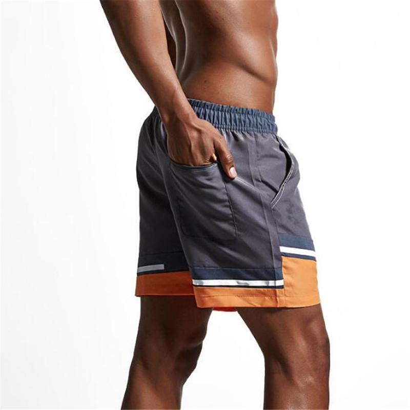 Topdudes.com - Men's Quick-Drying Patchwork Summer Beach High Quality Short Pants