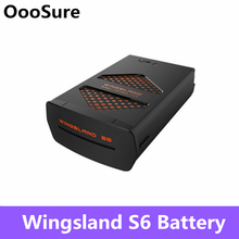 Wingsland s6 포켓 selfie 지능형 원격 제어 무인 항공기 부품에 대 한 7.6 v 2 s 1400 mah 충전식 리튬 포 배터리 교체