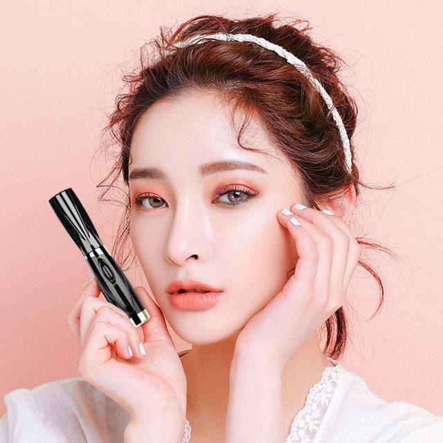Fashion Mini Electric Heated Eyelash Curler Heated Eye lashes Curler Brush Eye Lashes Styling Curling Iron Makeup Tool for Woman 3
