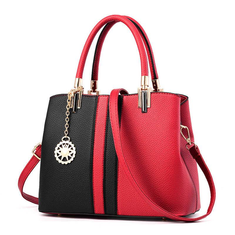 Новые роскошные сумки через плечо сумки на плечо для женщин 2019 кожаная сумка модный бренд дорожная женская сумка мешок основной bolso mujer