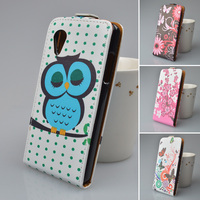 Magnetic Flip printing Leather Case Cover for LG Google Nexus 5 E980 D820 D821