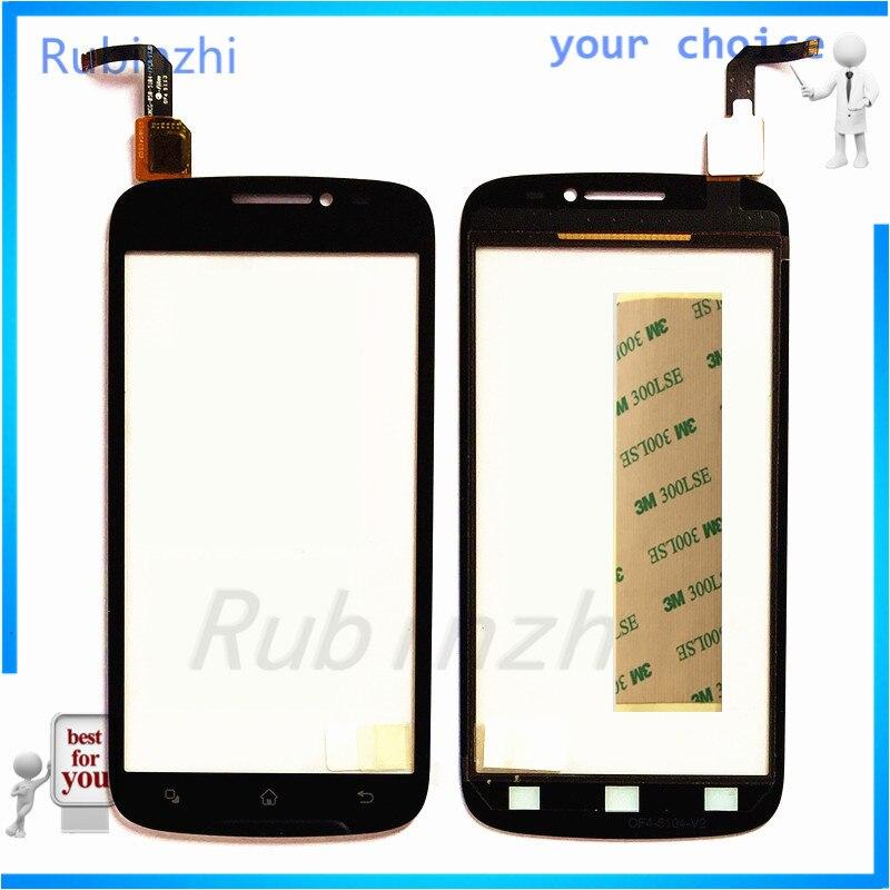 Сенсорный экран RUBINZHI для телефона Archos 50, титановая сенсорная панель, дигитайзер, Сменный стеклянный сенсор, сенсорная панель объектива + лен...