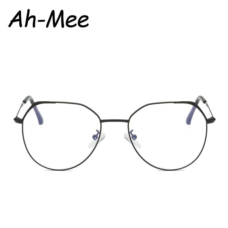 Fashion Women Glasses Frame Small Oval Nerd Optical Frames Eyeglasses Ladies Transparent Lenses Myopia Anti Blue Light Eyewear