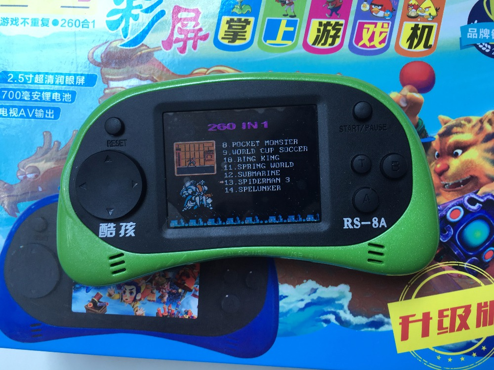 2 5 Inch Screen Handheld Game Console Portable Video Game