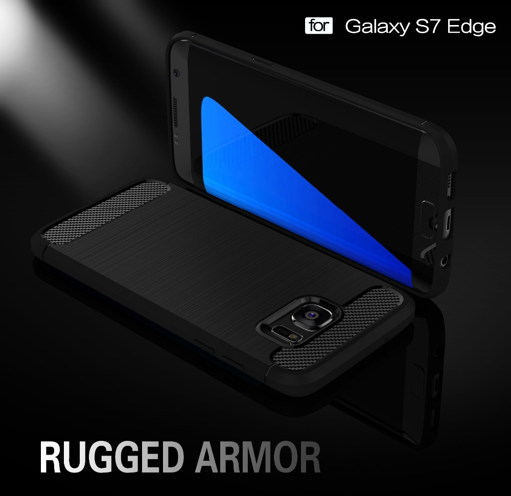 Case para samsung galaxy s7 s7 edge resistente híbrido tpu armor case para samsu