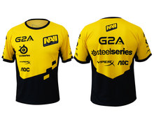 Game Team Jersey Natus Vincere Navi T Shirt CSGO LOL DOTA2 short sleeve Men t-shirt fast dry 100% Polyeste