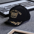 2017 новая Мода Мужчин И Женщин Бейсболки Пшеницы Лист Шаблон Золотой Вышивкой Спорта На Открытом Воздухе Крышка Плоская полями Солнцезащитный Крем шляпа