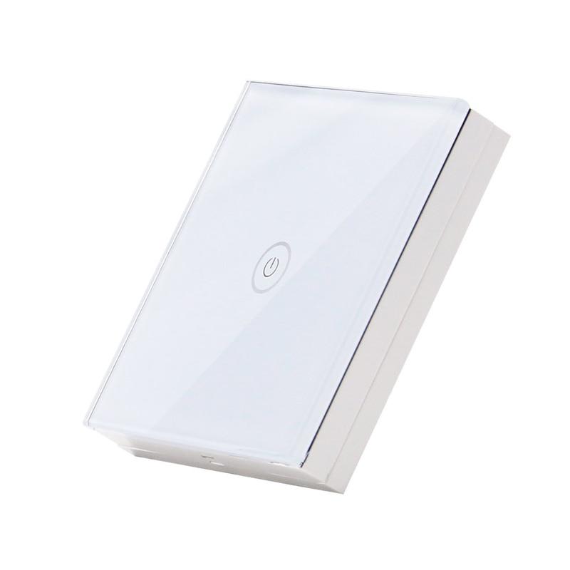 Tactile Interrupteur accessoires, Switch Panel de Verre Cristal Avancée Interrupteur Mural LED Voyant Interrupteur