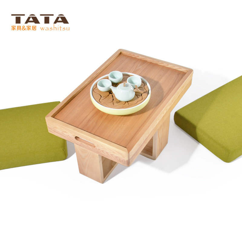 Modern Asian Style Tea Table Furniture Design Two Cushion Seat Low Coffee Gongfu Tray Japanese Chinese Wooden In Tables From
