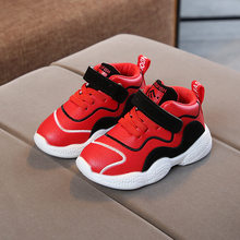 New Cool sneakers kids solid breathable light baby comfortable girls boys shoes 5 stars cool kids shoes excellent infant tennis(China)