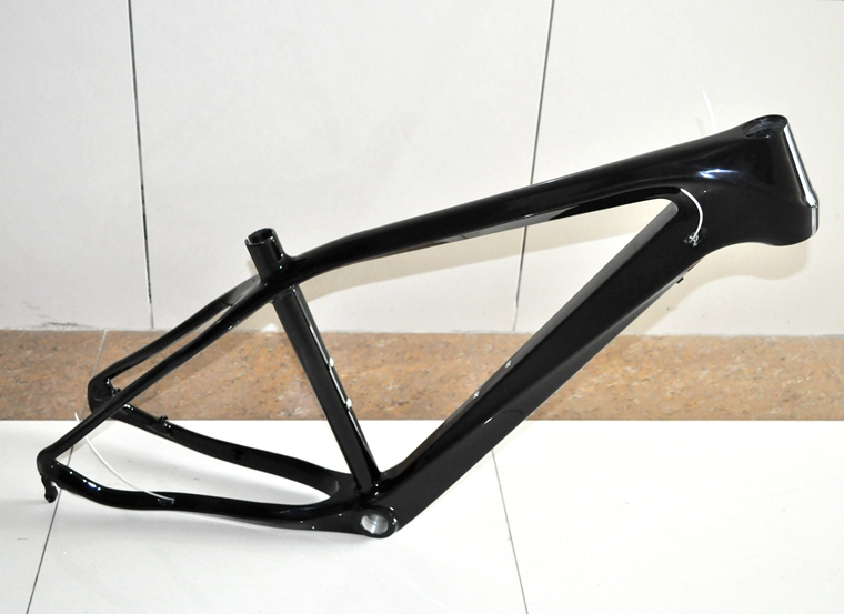 MF-009 MTB Frame UD Carbon Fiber Mountain Cycling Bike Frame 26ER*16 In Bicycle  Tapered Tube Disc Brake Frame