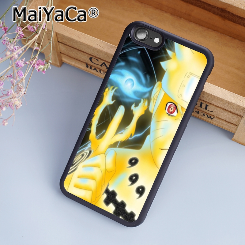 MaiYaCa Anime Naruto Minimalist Phone Accessories Case For Apple IPhone 8 7  6 6S Plus X 5 5S SE 5C 4 4S Cover In Fitted Cases From Cellphones ...