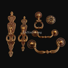 Retro Vintage 20PCS European Antique Cabinet Pulls Handles Kitchen Door Cupboard Wardrobe Drawer Cabinet Pulls Handles and Knobs цены
