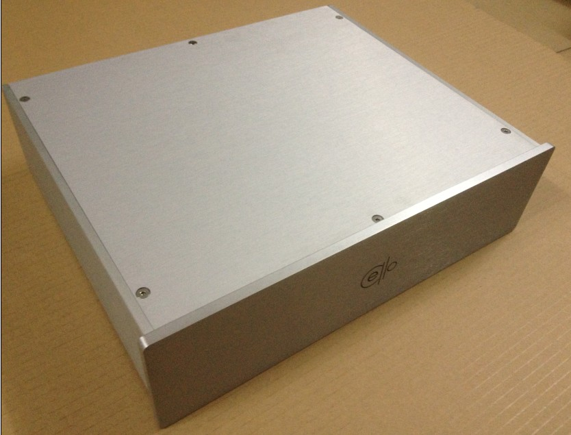CELLO 4009 blank amplifier enclosure full Aluminum AMP chassis DAC box PSU case/Preamp box 4308 rounded chassis full aluminum enclosure power amplifier box preamplifier chassis