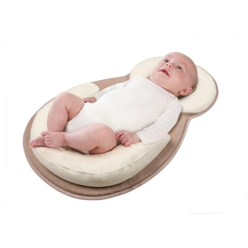 Baby Pillow Correct Sleeping Position Kids Pillow Children Room Baby Kissen Rollover Prevention Mattress 0 to 12months