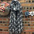 Nova Manta Tassel Lady Oversized Cobertor Tartan Plaid Cozy Verificado Pashmina Envoltório do Lenço do Xaile Acessórios Cachecol Cobertor