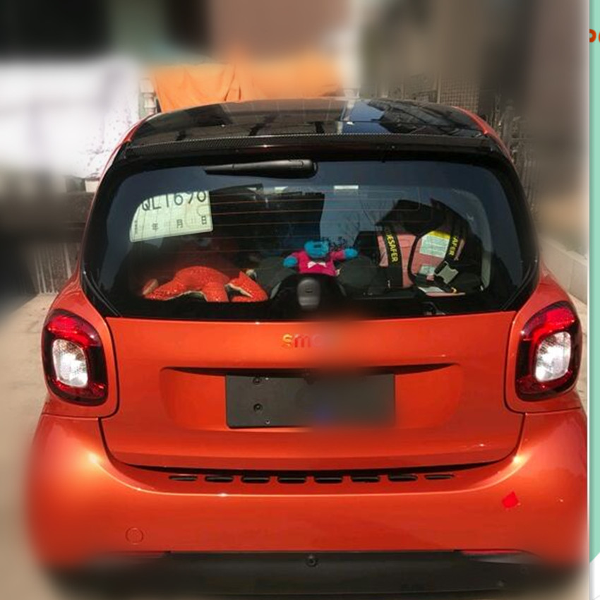 2017 NEW Style Car Styling Car Tail Decoration For Smart