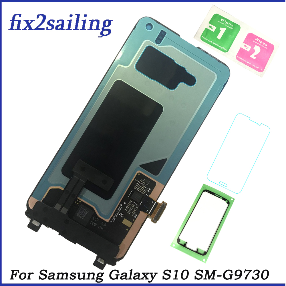 LCDS For Samsung Galaxy S10 SM-G9730 G973F G973U Super AMOLED Lcd display Screen Replacement Digitizer Assembly Free Shipping LCDS For Samsung Galaxy S10 SM-G9730 G973F G973U Super AMOLED Lcd display Screen Replacement Digitizer Assembly Free Shipping