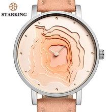 STARKING New Unique Design Creative Mineral Stylish Quartz Women Watch Casual Fashion Ladies Gift Wrist Watch Vintage Timepieces