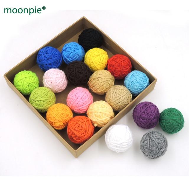 DIY Chunky baumwolle häkeln voodoo bälle, 20 farben, opulente ...