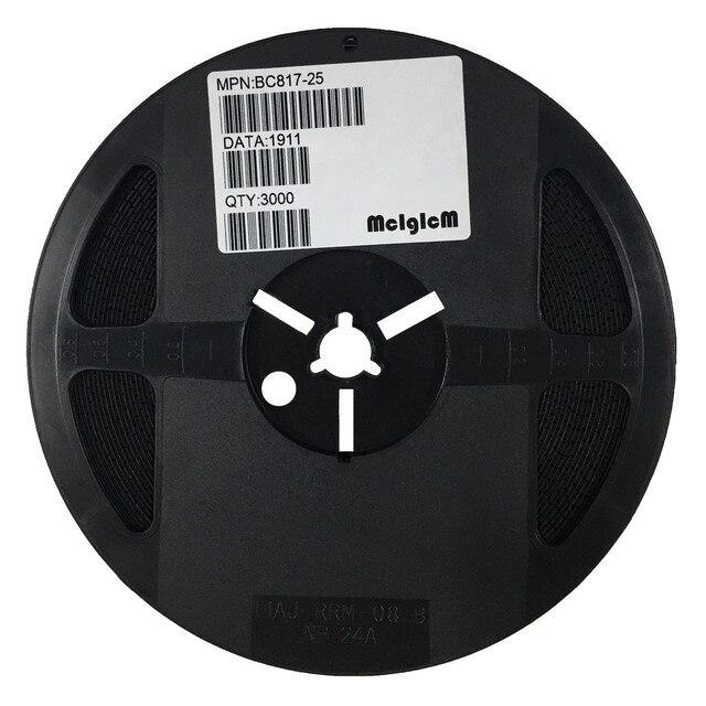 Mcigicm 3000 Pcs BC817 BC817 25 Sot 23 Npn 0.1A/45V Algemene Purpose Transistor Nieuwe Originele, Bc817
