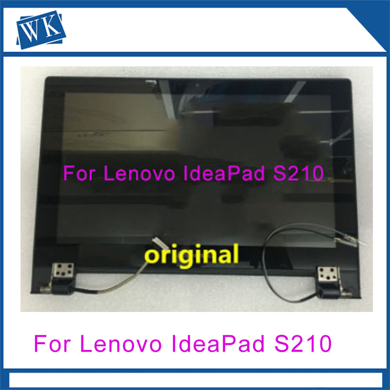 Original lcd touch assembly FOR LENOVO IdeaPad S210 11.6'' Laptop Lcd Screen Assembly With Cover FRU 90400138